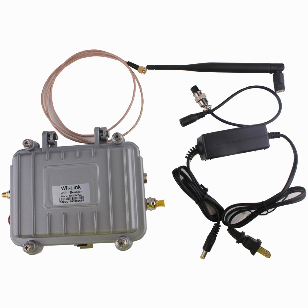 RF600 4W Signal Booster Amplifier 2.4GHz Wireless WiFi 802.11 b/g/n Antenna by Sunwin (Image #7)