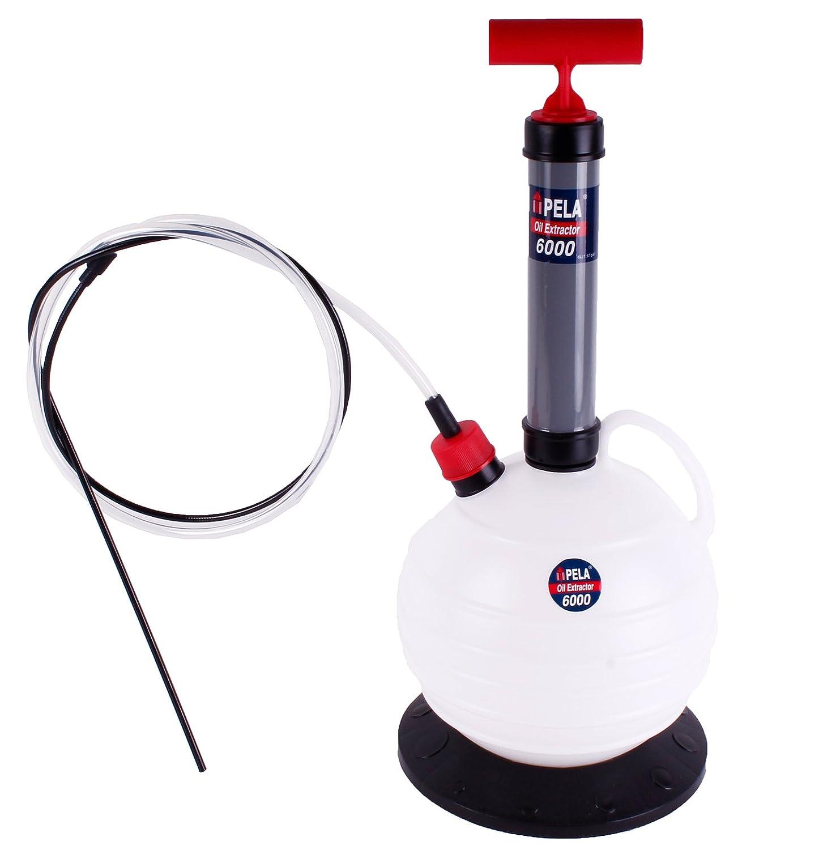 Pela 6000 Oil Pump - Oil Extractor/Oil Extraction Kit. Oil Change Sump Pump! 6 litre