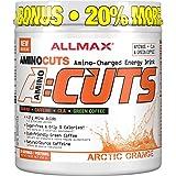 ALLMAX Nutrition - AMINOCUTS (A:CUTS) - Weight-Management BCAA (CLA + Taurine + Green Coffee) - Arctic Orange - 252 Gram - 36 Servings