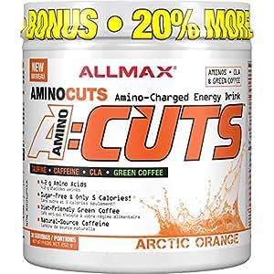 AllMax Amino Cuts - Amino Charged Energy Drink - Arctic Orange - (36 serve) 252g