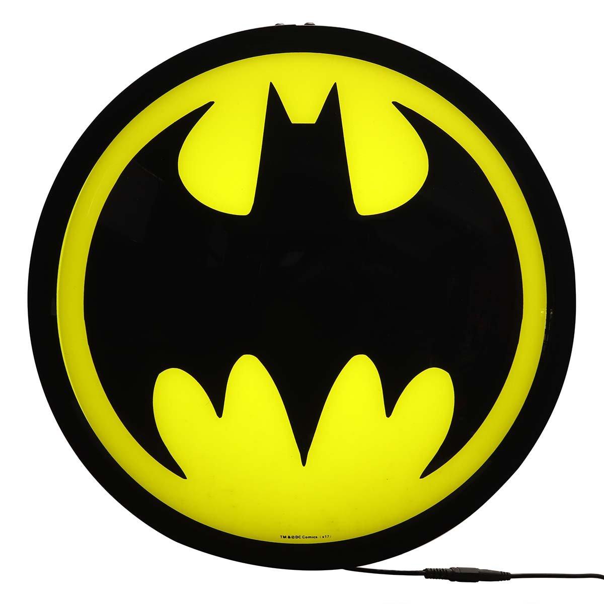 Batman Round Lighted Globe