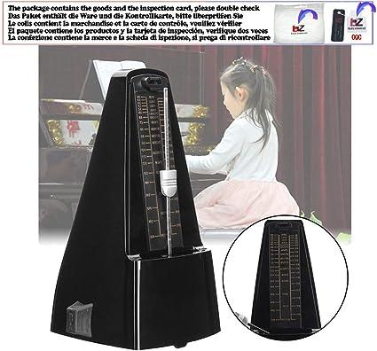 Antiguo Mini Musical Mecánico Metrónomo Péndulo Mecánico Madera ...