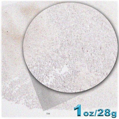 1oz = 28g Plastic Microbeads  Nohole 0.6mm Transparent  Aurora Borealis AB Clear