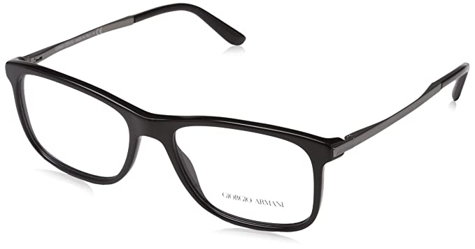 73d9c6aacce Ray-Ban Men s s 5017 Optical Frames Black 54  Amazon.co.uk  Clothing