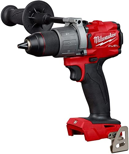 Milwaukee 2804-20 M18 FUEL 1 2 in. Hammer Drill Tool Only Tool-Peak Torque 1,200 Renewed