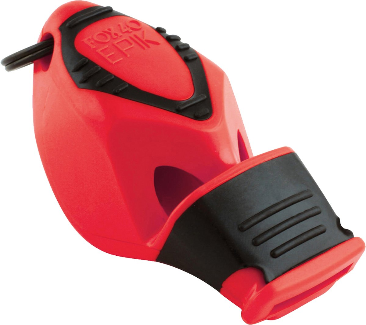 Fox 40 Epik Cmg Safety Whistle C/w Wrist-Lanyard Red