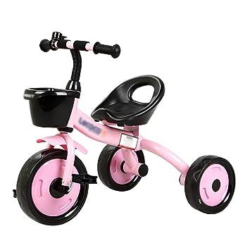 Triciclos- Bicicleta de 3 Ruedas niño Bicicleta Bebé de Juguete Carrito para niños de 2 a 6 años de Edad Joven (Color : Pink): Amazon.es: Hogar
