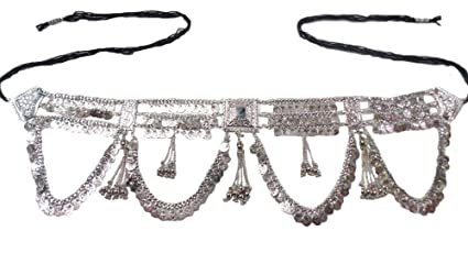 Amazon.com  oxojewels Women s Belly Dance Hip Belt Oxidized Vintage ... 24ca7839e