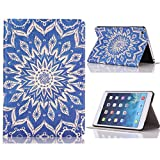 Roodfox Totem Flower Flip Stand Leather Case Cover For iPad Mini 1 2 3 Retina