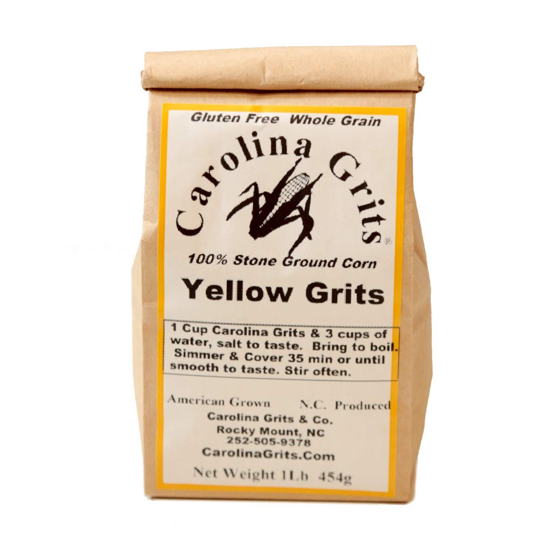 Carolina Grits Company Traditionally Stone Ground Yellow Grits, 1 Pack