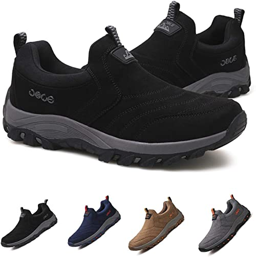 Mens Sneakers Outdoor Leisure Sports Fashion Waterproof Hiking Shoes UK Size 12