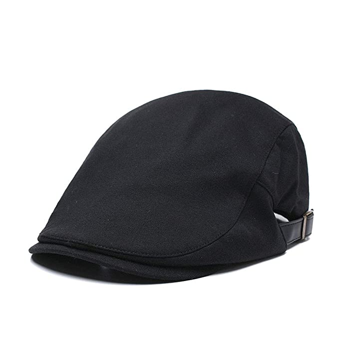 df4adb85 Men's Cotton Ivy Gatsby Newsboy Driving Hat Beret Cap Golf Scally Hunting  Summer Driver Irish Hats