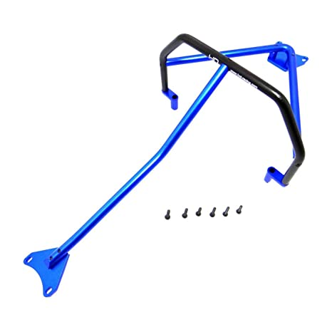 Amazon Com Hot Racing Blue Aluminum Inner Roll Cage Lcg Slash 4x4