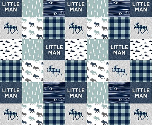 quilting squares baby boy - 2