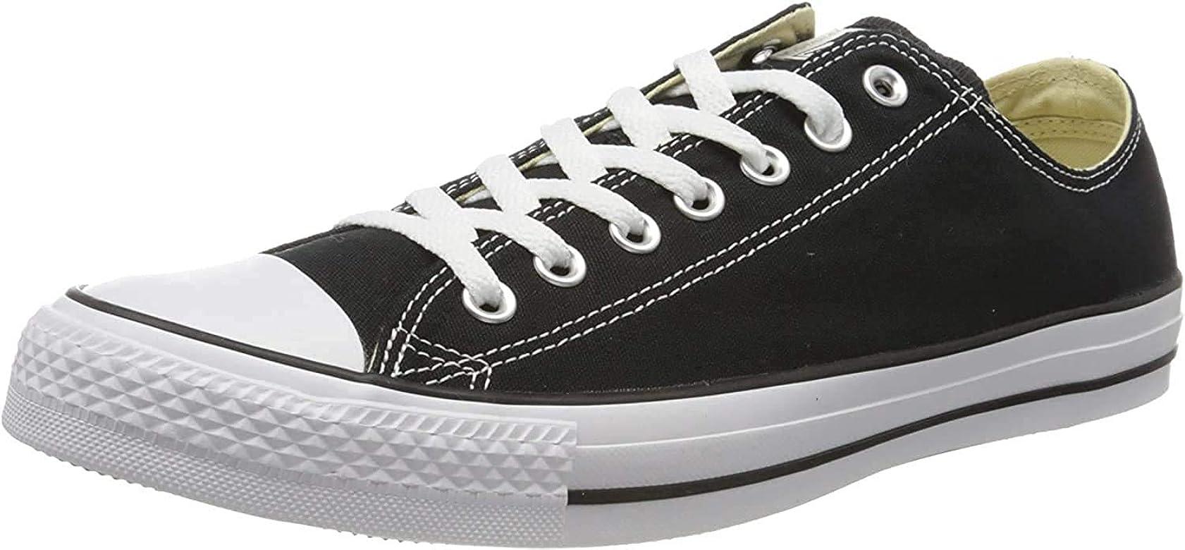US Women // 9.5 D US Men, Black//Black M 43 M EU // 11.5 B M Converse Chuck Taylor All Star Core Canvas Low Top Sneaker