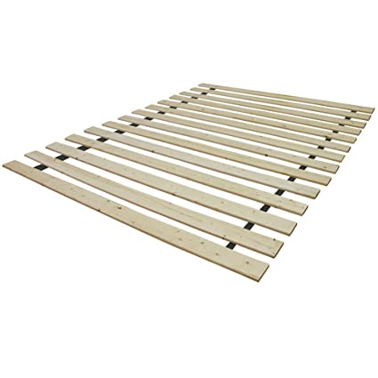 Amazon.com: Classic Brands Standard Solid Wood Bed Support Slats ...