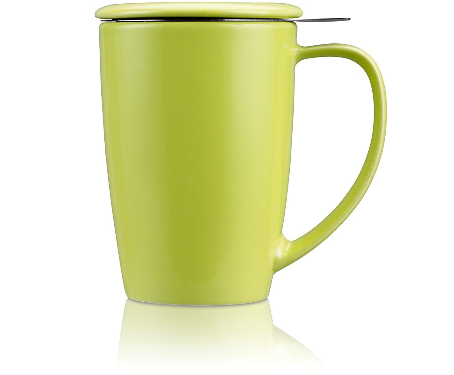 FORLIFE Mug with Strainer Curve 0.45 L Lime