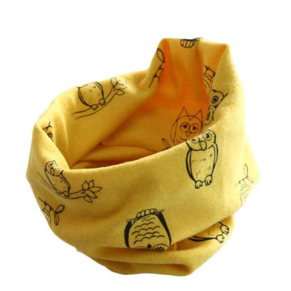 Voberry Autumn Winter Unisex Baby Toddler Kids Warm Neck Warmer Wrap Shawl Scarves