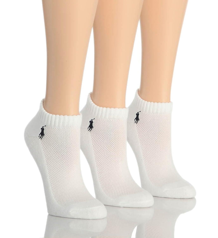 Ralph Lauren Hosiery RL Sport Cushion Foot Sock 3 Pair Pack (7370) free shipping