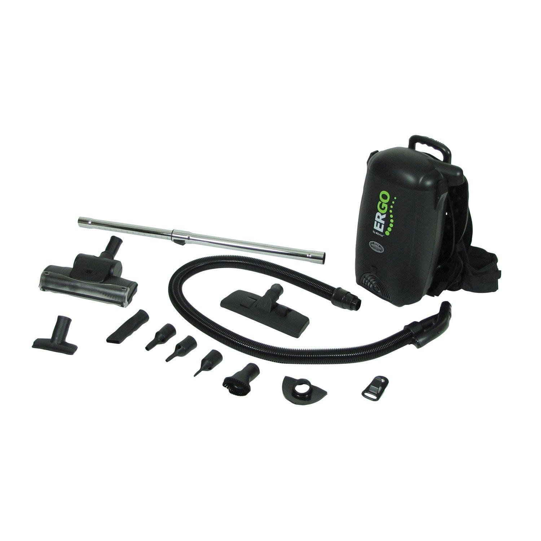 Atrix - VACBP1 HEPA Backpack Vacuum Corded 8 Quart HEPA Bag 4 Level Filtration With Attachments