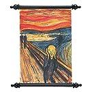 Design Toscano el Silent Scream (1893) Lona Wall Scroll