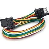 Wire Trailer Plug Wiring on u-haul 4-way flat wiring, 4 wire trailer wiring harness, 4 wire trailer connector, 5 wire trailer wiring, 4 wire trailer diagram, 4 wire trailer light wiring, 4 wire trailer wire roll,