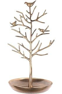 Amazoncom Bird Nest Jewelry Tree Organizer Jewelry Tree Holder