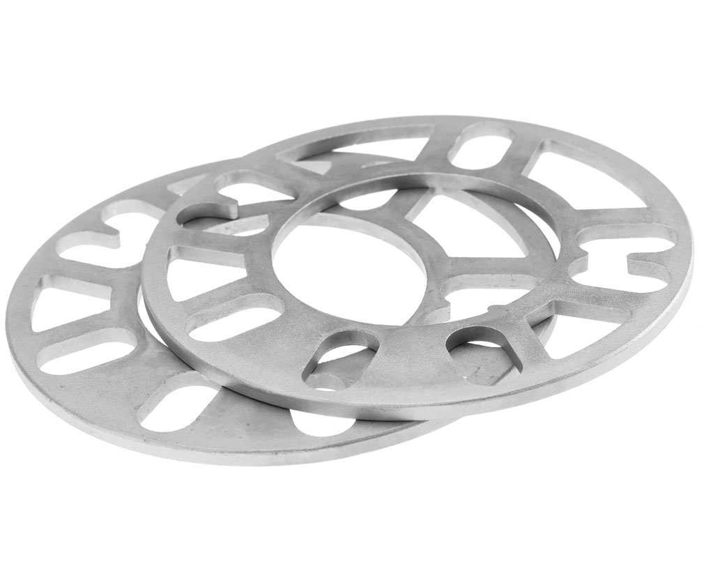2PCS É largisseurs de voie Entretoise de roue en alliage universel 4 et 5 goujon adapteur 5MM HDIGIWORLD