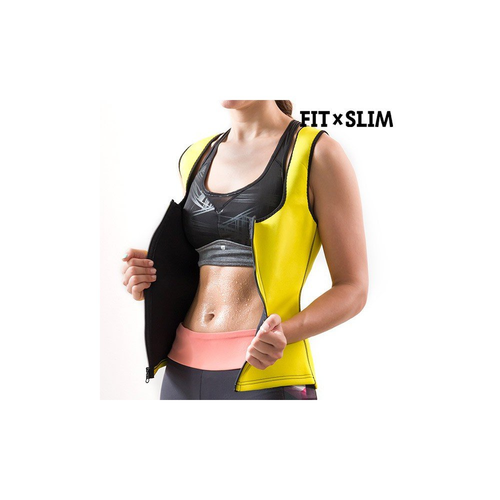 FitxSlim X-Tra Sauna Chaleco Deportivo, Mujer IGS