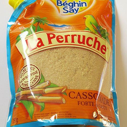 Rohr-Zucker, braun, Streuzucker, von La Perruche 750g