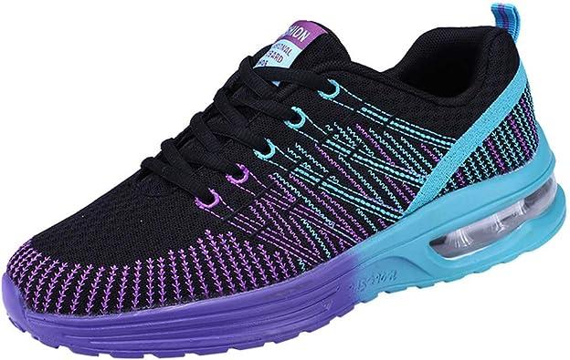 Zapatillas de Deporte Unisex Adulto, Sencillo Vida, Zapatillas Running para Hombre Aire Libre Transpirables Casual Zapatos Gimnasio Correr Sneakers, Sneakers Invierno Impermeables: Amazon.es: Zapatos y complementos