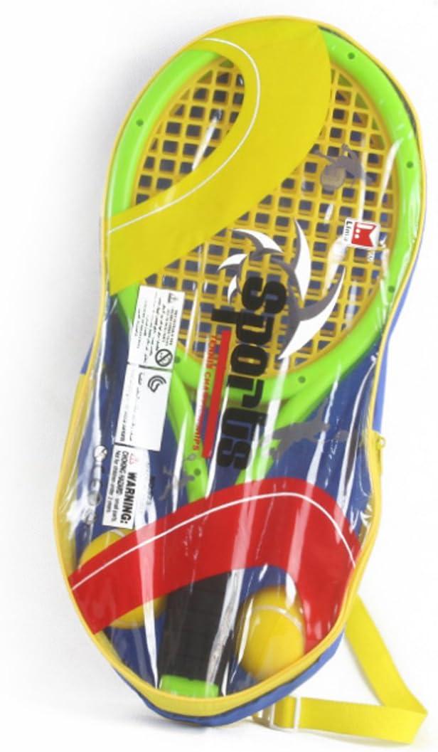 Amazon.com: Lingxuinfo - Juego de tenis para niños con 2 ...