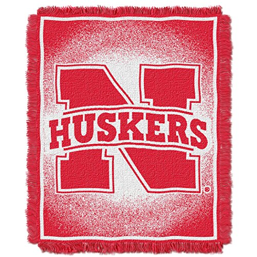 Throw Focus College (NCAA Nebraska Cornhuskers Focus Jacquard Throw, 48