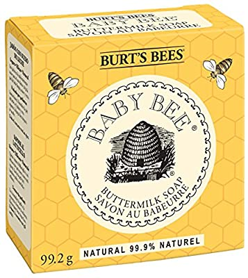 Burt's Bees Baby Bee Buttermilk Soap, 3.5-Ounce Bars (Pack of 3)