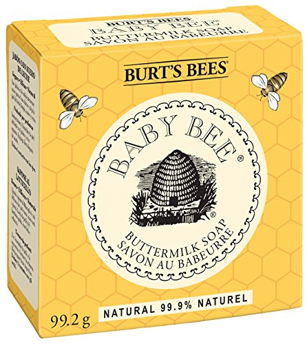 Burt's Bees Baby Bee Buttermilk Soap, 3.5-Ounce Bars (Pack of 3) (Bar Baby)