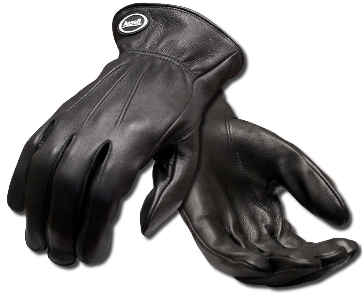 Size 8 Ansell Projex 97-978 Multi-purpose gloves Pack of 1 pair Black mechanical protection