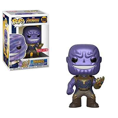 Pop Avengers Infinity War: Metallic Thanos Collectible Figure, Multicolor: Toys & Games
