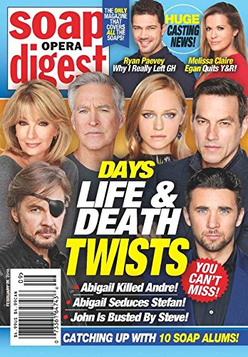Soap Opera Digest (Celeb Mens Fashion)