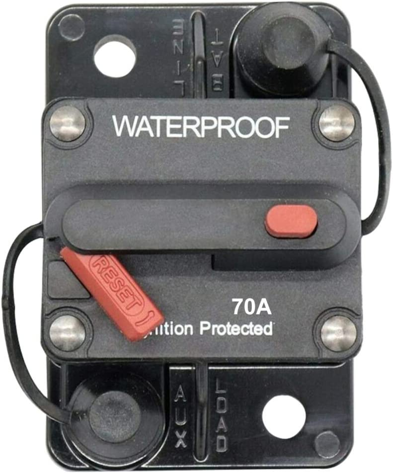 36V Auto Reset Circuit Breaker for Motor Auto Car Marine Boat Bike ...