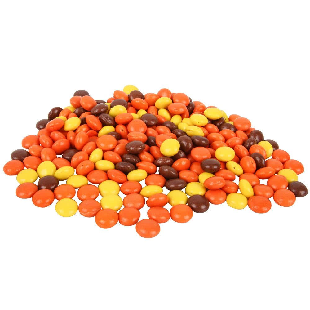 Mini Pieces Ice Cream Topping - 25 lb. By TableTop King