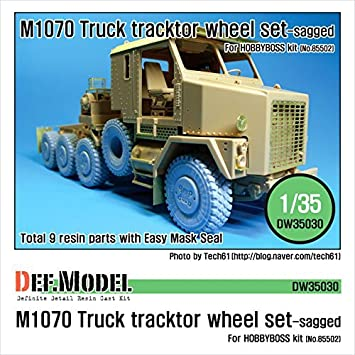 Amazon com: DEF Model M1070 truck tractors own weight
