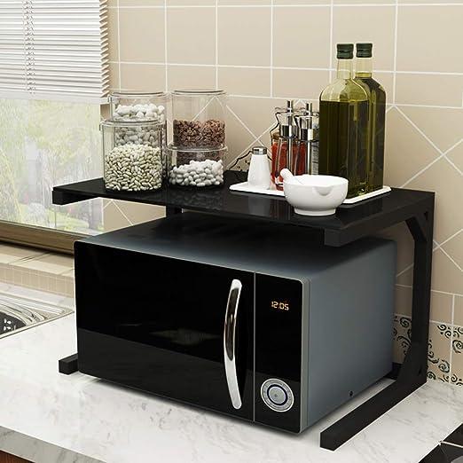 CNDY 2 Niveles de Cocina Rack Horno microondas Horno de Cocina ...