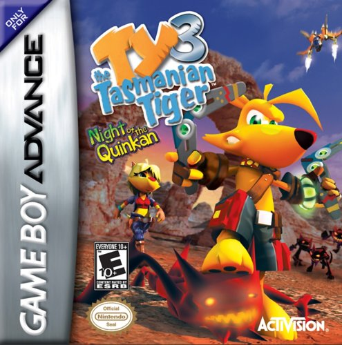 Ty the Tasmanian Tiger 3 Night of the Quinkan