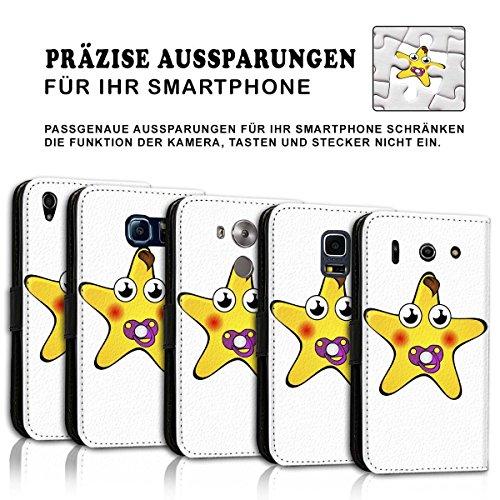 Wallet Book Style Flip Handy Tasche Case Schutz Hülle Schale Motiv Etui für Apple iPhone 4 / 4S - Design Flip MV115