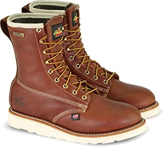 """product image for Thorogood Men's American Heritage 8"""" Round Toe, MAXWear Wedge Waterproof Non-Safety Toe Boot (3M Thinsulate)"""