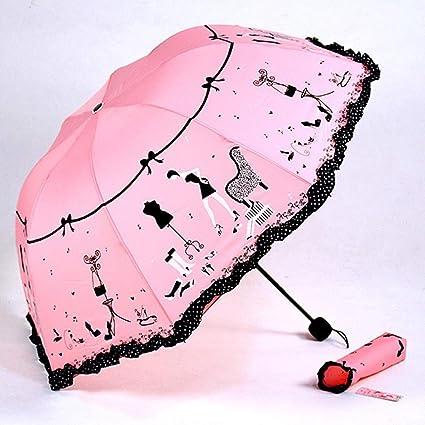 Paraguas de Golf Patrón de Belleza Moda Paraguas Dama Arco ...