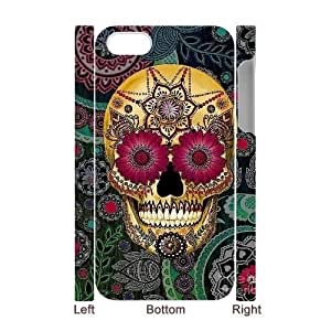 Skull CUSTOM 3D Hard Case for iPhone 4,4S LMc-07444 at
