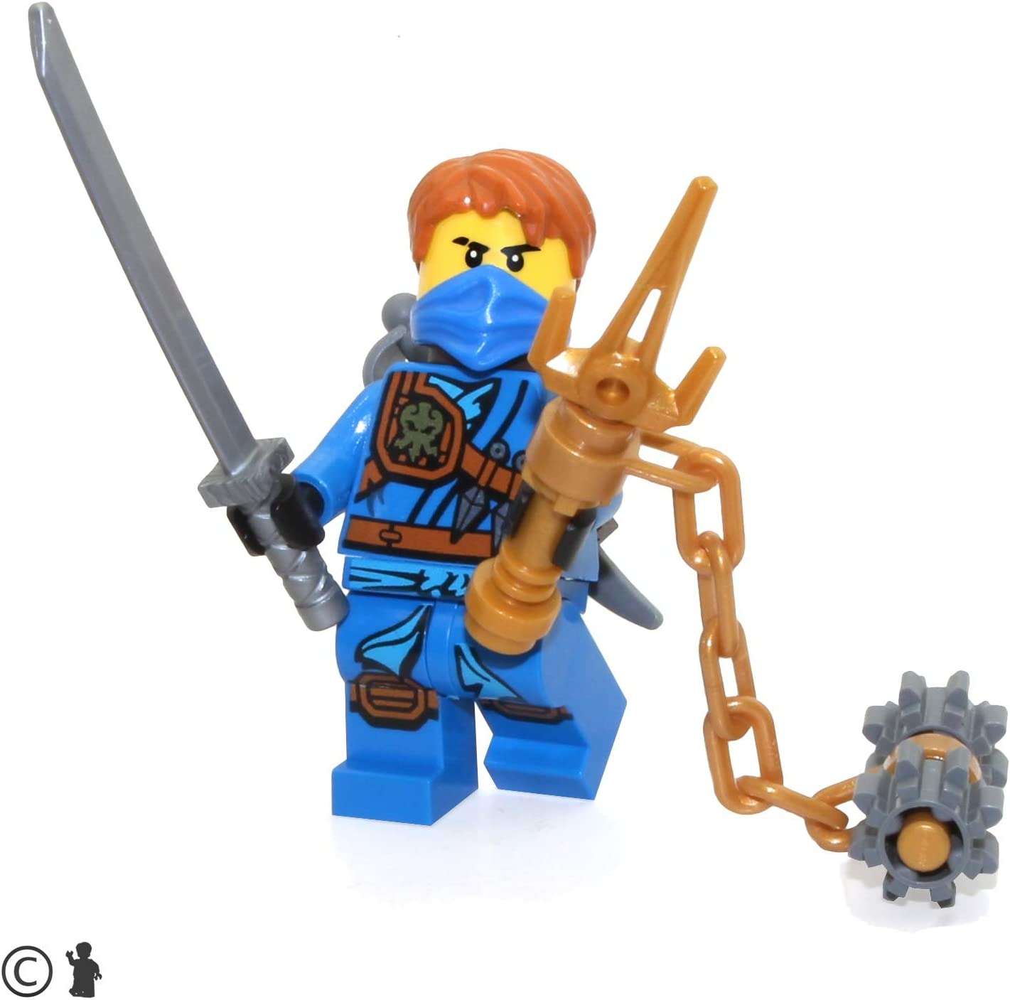 LEGO Ninjago Tournament of Elements Minifigure - Jay (Limited Edition Foil Pack with Weapons)