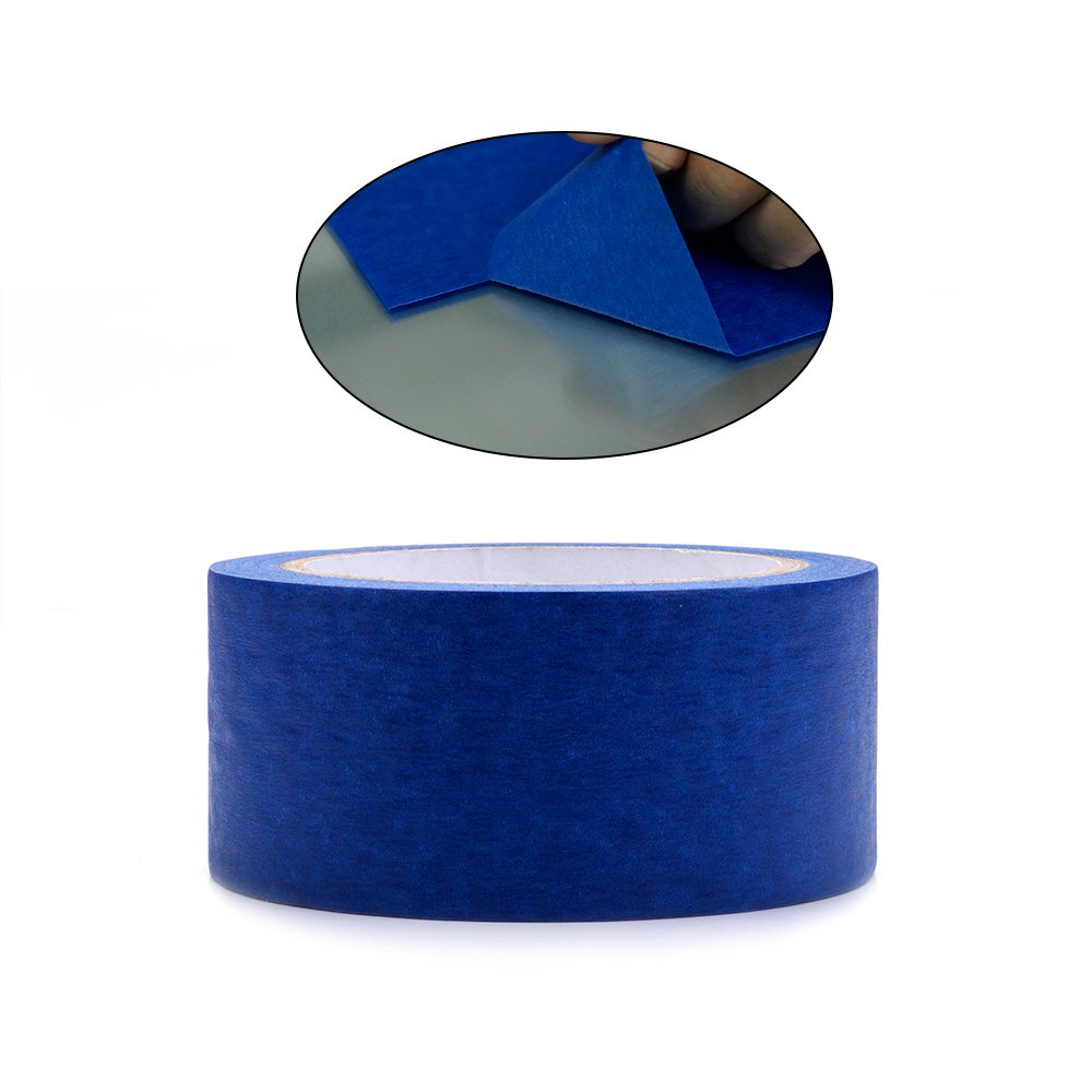 Professional Blue Painters Tape, FYSETC 1.88''/ 48mm Blue Masking Tape for Creality CR-10 10S S4 Ender 3 Glass Plate Tape 2090 Masking Tape, 30M/ 33 Yd by FYSETC (Image #2)