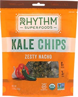 product image for Rhythm Superfoods (NOT A CASE) Kale Chips Zesty Nacho